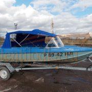 Ходовой тент на лодку Казанка-5 М2, М3, М4