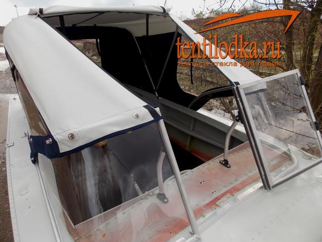 размер ветрового стекла лодку