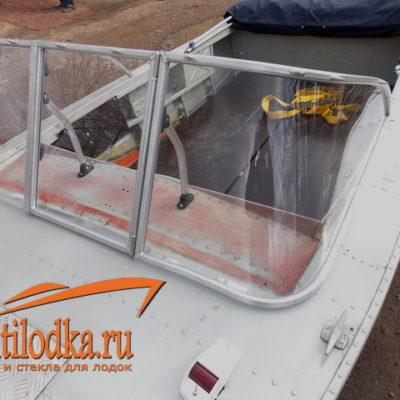 лодки стекло дном