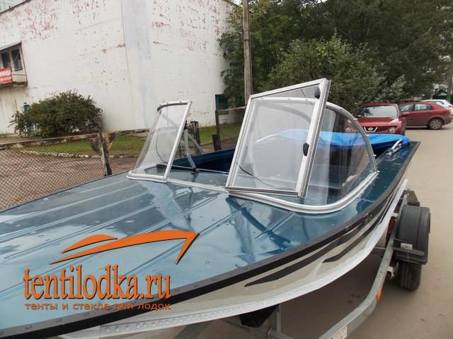 тент на лодку и лобовое стекло