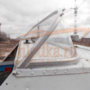 Стекло лобовое для лодки Серебрянка 3