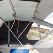 Ходовой тент на лодку Салют 480