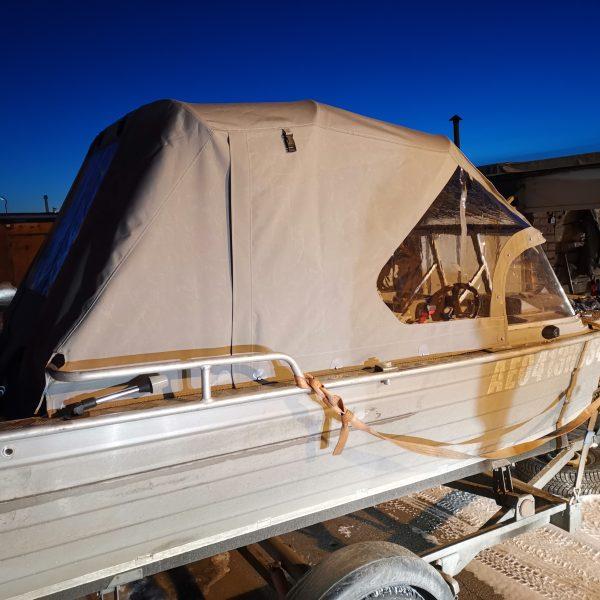 Ходовой тент на лодку Вятбот 430 DCM