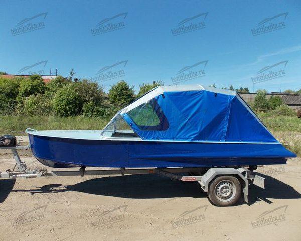 Ходовой тент на лодку Казанка 1
