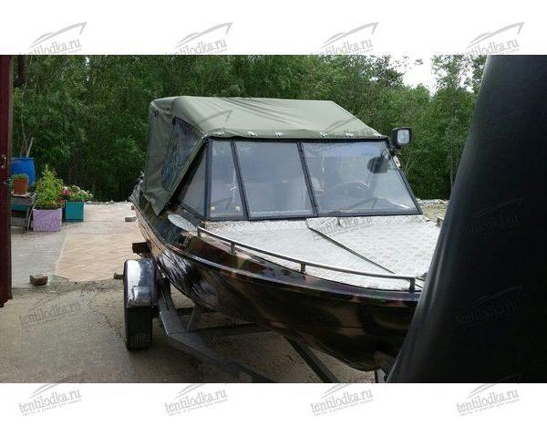Ходовой тент на лодку Крым