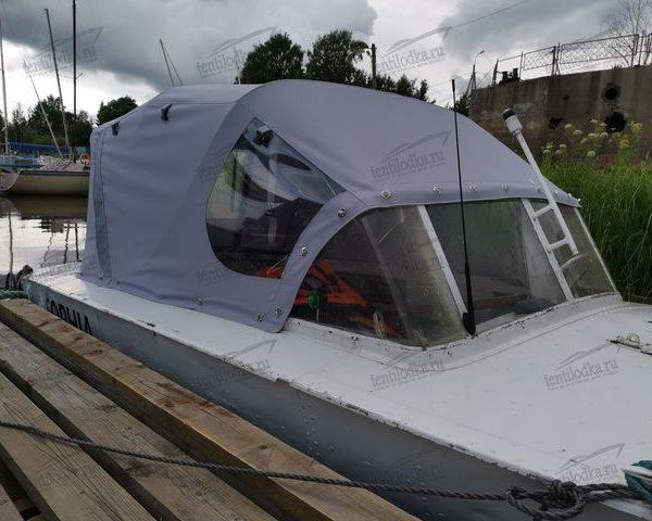 Ходовой тент на лодку Прогресс-2