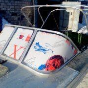 Стекло лобовое для лодки Прогресс 2