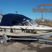Ходовой тент на лодку Крым-3