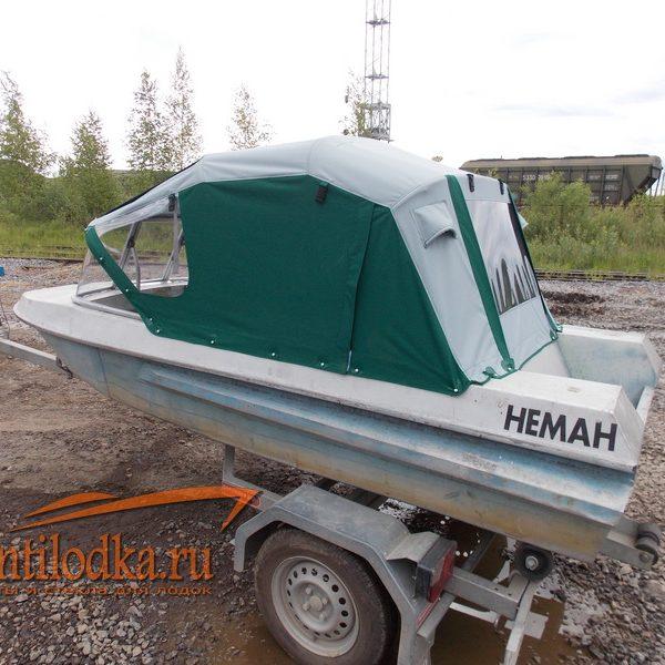 Ходовой тент на лодку Неман 1