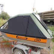 Ходовой тент на лодку Wellboat 36 (Вельбот 36)