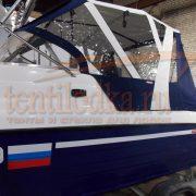 Тент для лодки Неман 550 с каютой