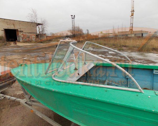 Стекло лобовое для лодки Ока 4