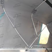 Ходовой тент на лодку Вельбот 37