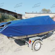 Транспортировочный (стояночный) тент на лодку Салют 480