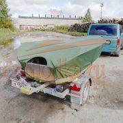 Транспортировочный (стояночный) тент на лодку Вельбот 42