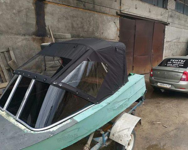 Ходовой тент на лодку МКМ (Ярославка)