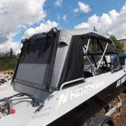Ходовой тент на лодку Неман 500 DC